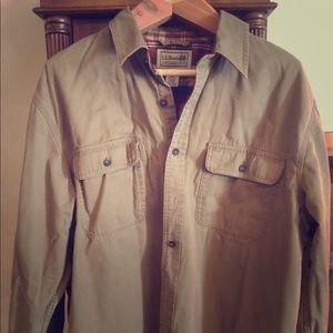 Men's light fall jacket.